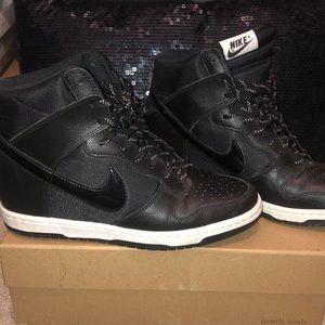 Nike Shoes - Nike Dunks Wedged Sneaker